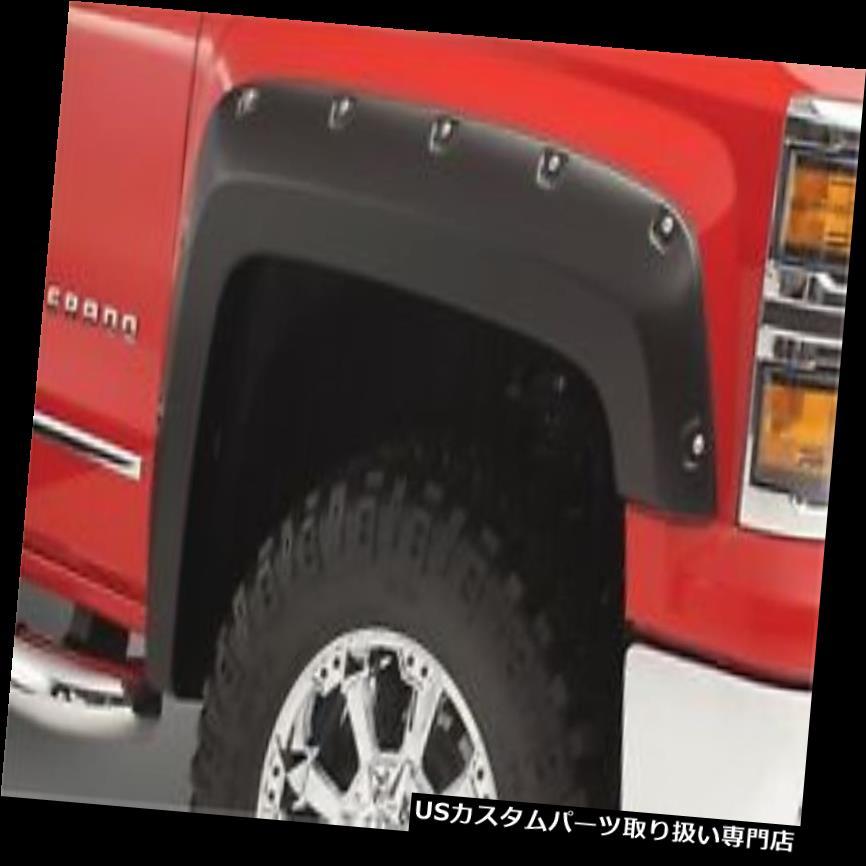 オーバーフェンダー Bushwacker 50924-02ポケットスタイルフェンダーフレアフィット19 1500 Bushwacker 50924-02 Pocket Style Fender Flares Fits 19 1500