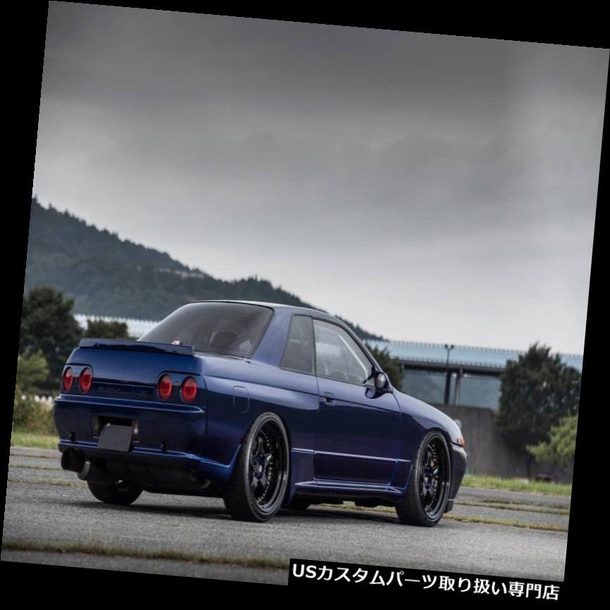 オーバーフェンダー 日産のスカイラインGTR R32 OEM用FRPファイバーフロントワイドフェンダーホイールフレア2Pceキット FRP Fiber Front Wide Fender Wheel Flares 2Pce Kit For Nissan Skyline GTR R32 OEM