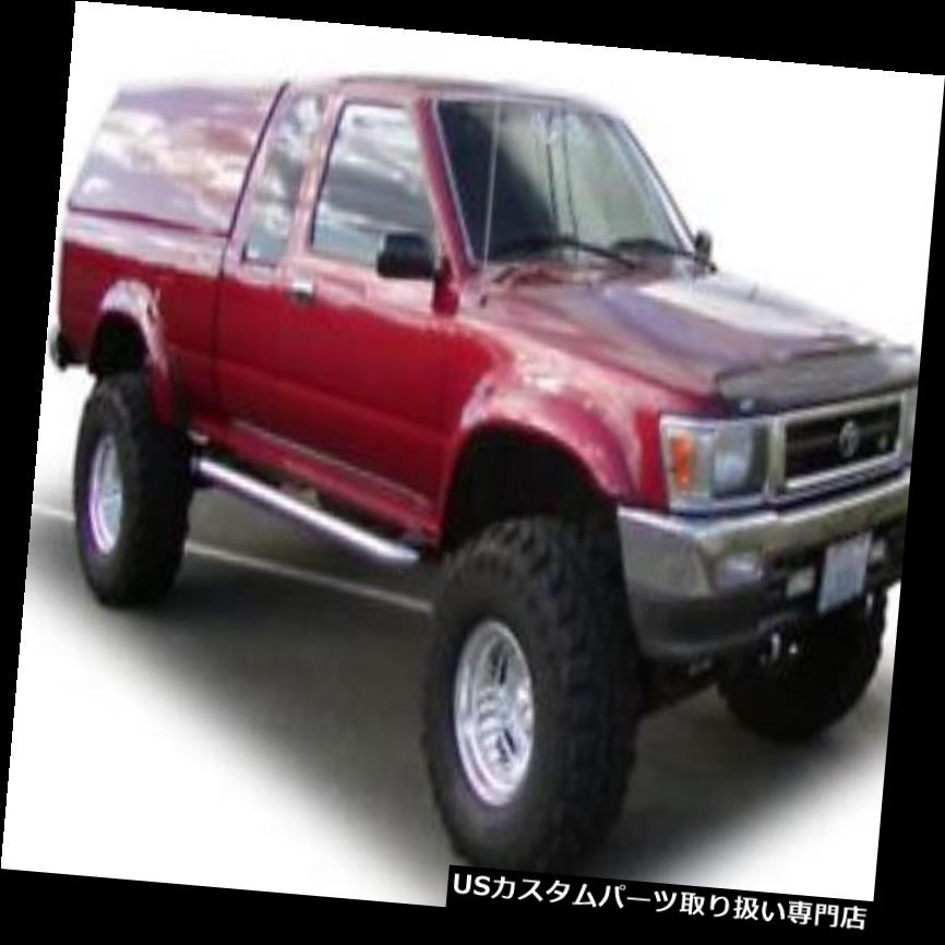 オーバーフェンダー Bushwacker 31906-01 - 前後のフェンダーフレア r Bushwacker 31906-01 - Extend-A-Fender Front and Rear Fender Flares