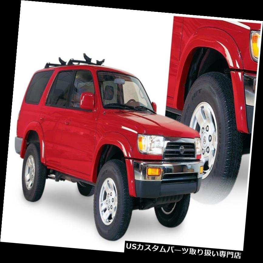 オーバーフェンダー Bushwacker 31913-11 Extend-A-Fende  rフレアフィット96-02 4ランナー Bushwacker 31913-11 Extend-A-Fender Flares Fits 96-02 4Runner
