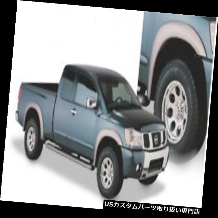 オーバーフェンダー Bushwacker Extend-A-Fende  rフロントおよびリアフレア04?15日産タイタン Bushwacker Extend-A-Fender Front And Rear Flares For 04-15 Nissan Titan