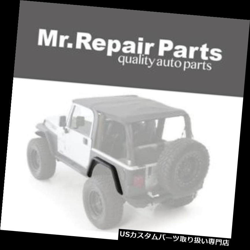 オーバーフェンダー 97-06ジープラングラー(TJ / LJ)XRC後部3インチフェンダーフレア76875用Smittybilt Smittybilt For 97-06 Jeep Wrangler (TJ/LJ) XRC Rear 3