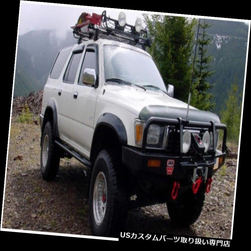 オーバーフェンダー Bushwacker 31907-11 Extend-A-Fende  rフレアが90?95に収まる4ランナー Bushwacker 31907-11 Extend-A-Fender Flares Fits 90-95 4Runner