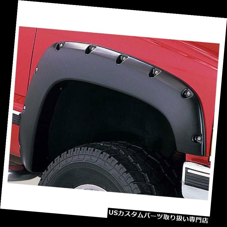 オーバーフェンダー 1992-1994シボレーC10用フェンダーフレア[4pcスムースリベット/ボルトスタイル]プレミアムFX Fender Flares for 1992-1994 Chevy C10 [4pc Smooth Rivet/Bolt Style] Premium FX
