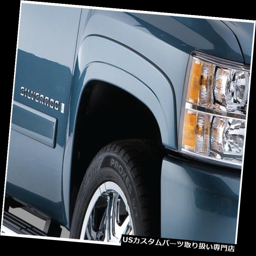 オーバーフェンダー Bushwacker 40079-02 OEスタイルフロントフェンダーフレア Bushwacker 40079-02 OE Style Front Fender Flares