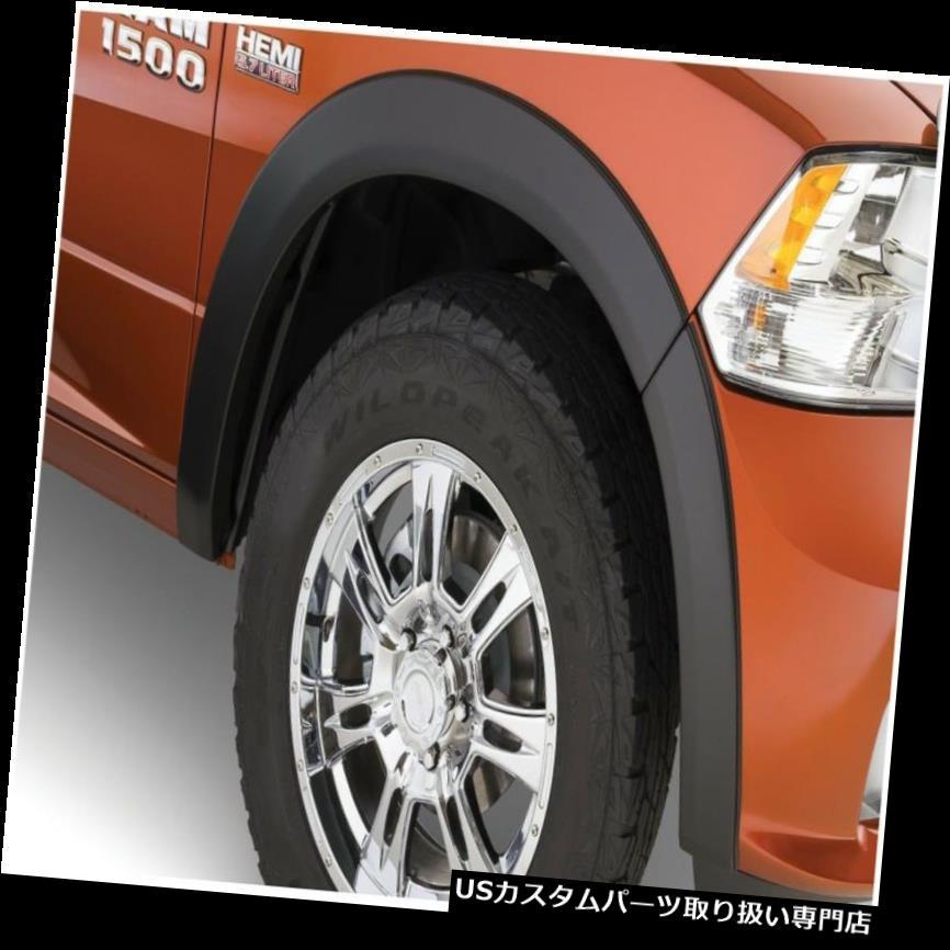 オーバーフェンダー 09-18 1500 Ram 1500 Bushwacker 50049-02 OEスタイルフェンダーフレアにフィット Fits 09-18 1500 Ram 1500 Bushwacker 50049-02 OE Style Fender Flares