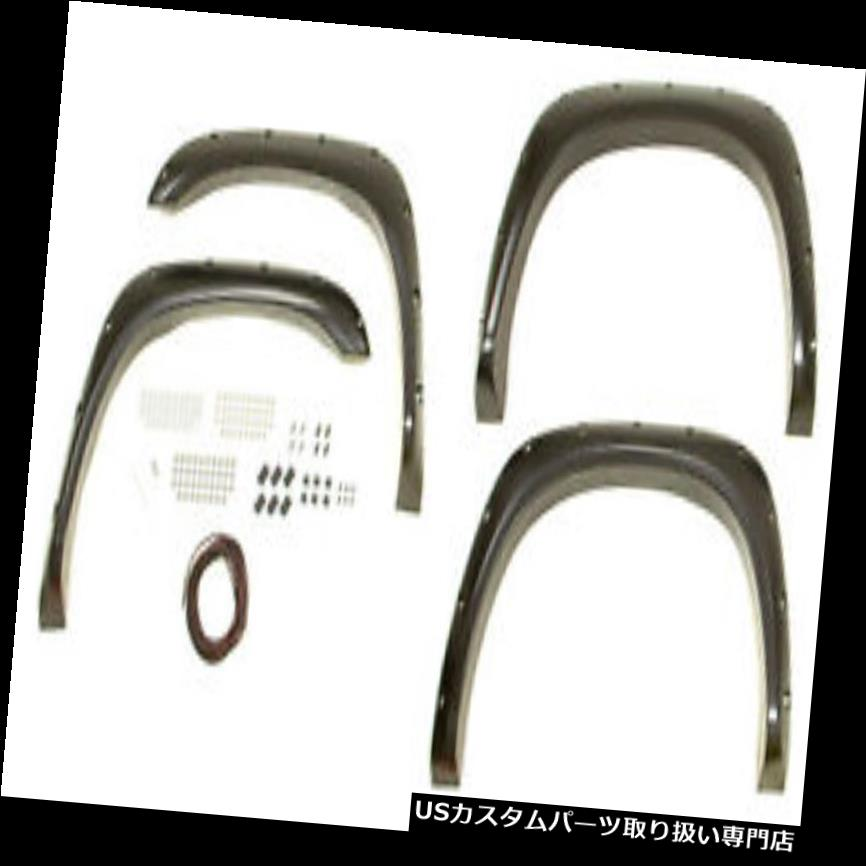 オーバーフェンダー BUSHWACKER 02-09 RamポケットスタイルFlares 4pc P / N - 50907-02 BUSHWACKER 02-09 Ram Pocket Style Flares 4pc P/N - 50907-02