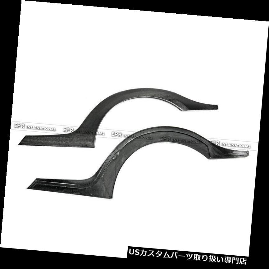 車用品・バイク用品 >> 車用品 >> パーツ >> 外装・エアロパーツ >> オーバーフェンダー オーバーフェンダー 日産スカイラインR35 GTR用カーボンファイバーTSスタイルリアフェンダーフレアアーチキット Carbon Fiber TS Style Rear Fender Flares Arches Kit For Nissan Skyline R35 GTR