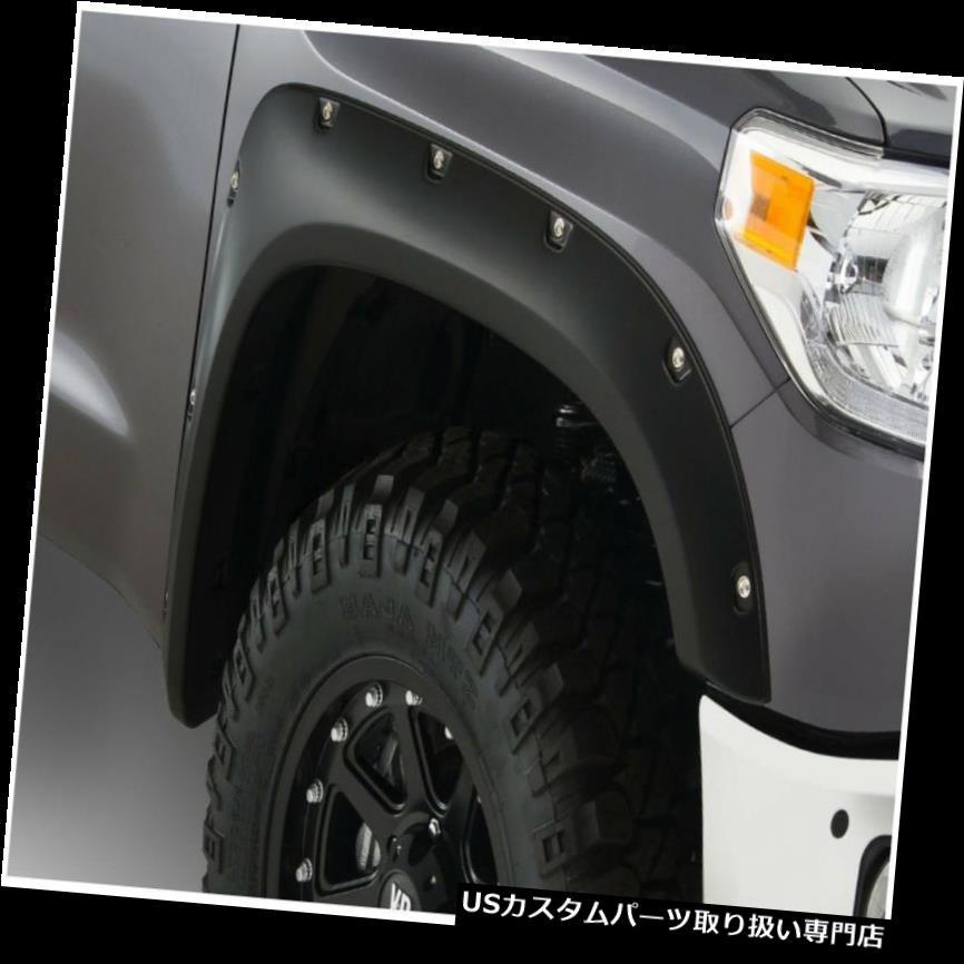 車用品・バイク用品 >> 車用品 >> パーツ >> 外装・エアロパーツ >> オーバーフェンダー オーバーフェンダー 14-18 Tundra Bushwacker 30039-02ポケットスタイルフェンダーフレアにフィット Fits 14-18 Tundra Bushwacker 30039-02 Pocket Style Fender Flares
