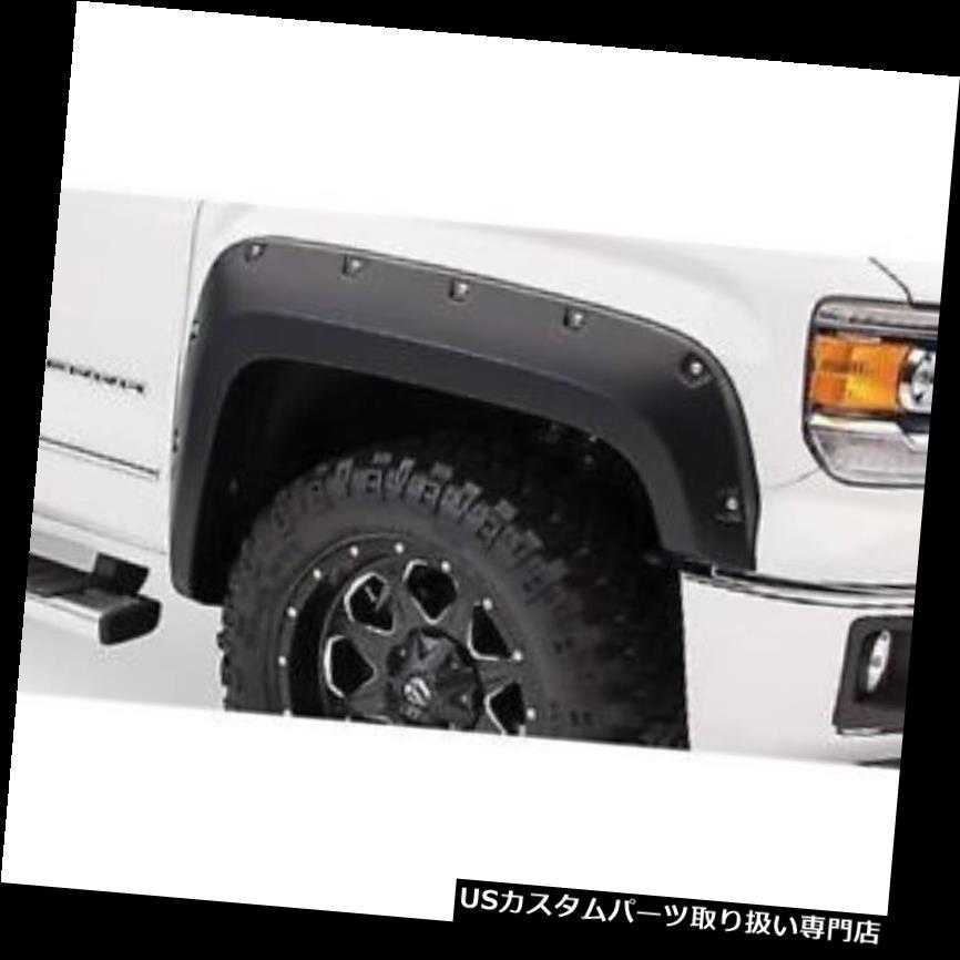車用品・バイク用品 >> 車用品 >> パーツ >> 外装・エアロパーツ >> オーバーフェンダー オーバーフェンダー Bushwacker 40121-02フロントフェンダーフレアポケットスタイル2014-15 GMCシエラ1500 Bushwacker 40121-02 Front Fender Flares Pocket Style For 2014-15 GMC Sierra 1500