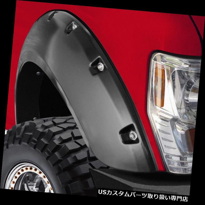 "BLACK PAINTABLE Pocket Bolt Fender Flares 14-18 Toyota Tundra Flare Height 5.0/"""