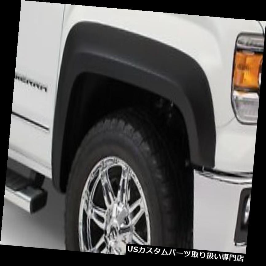 オーバーフェンダー 16-18 Sierra 1500 Bushwacker 40975-02に広がる、フェンダーの延長 rフレア Fits 16-18 Sierra 1500 Bushwacker 40975-02 Extend-A-Fender Flares