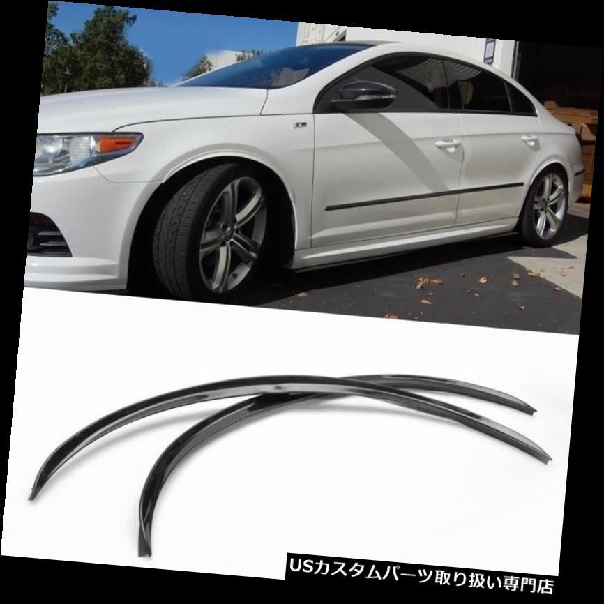 Pair Diffuser Wide Body Fender Flares For Mazda Subaru Wheel Wall Panel Bumper