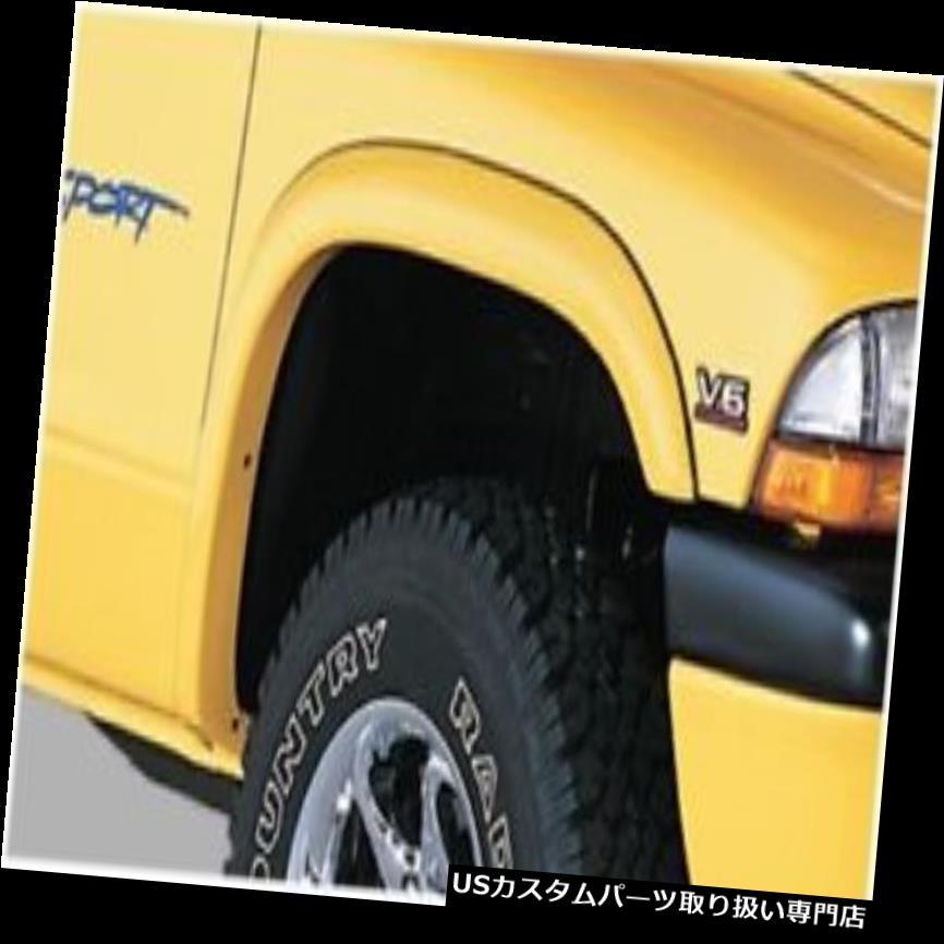 オーバーフェンダー Bushwacker 51501-02 Dodge Street Flares - 4個セット Bushwacker 51501-02 Dodge Street Flares - Set of 4