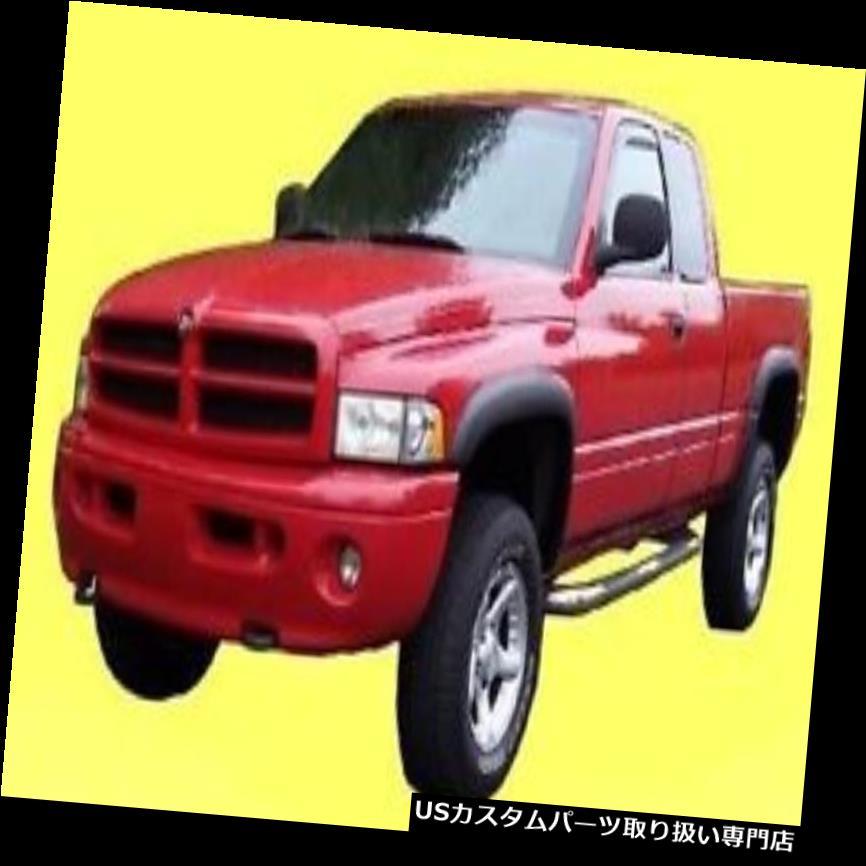 オーバーフェンダー 1994-2001 DODGE RAM 1500 2500 3500フェンダーフレアマットブラック塗装可能4個 1994-2001 DODGE RAM 1500 2500 3500 Fender Flares matte black paintable 4 pieces