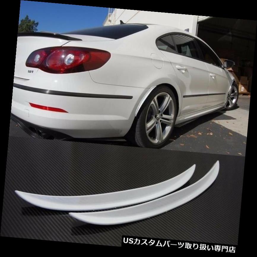 "1 Pair 13/"" Black Diffuser Fender Flares Lip For Honda Wheel Wall Panel Bumper"