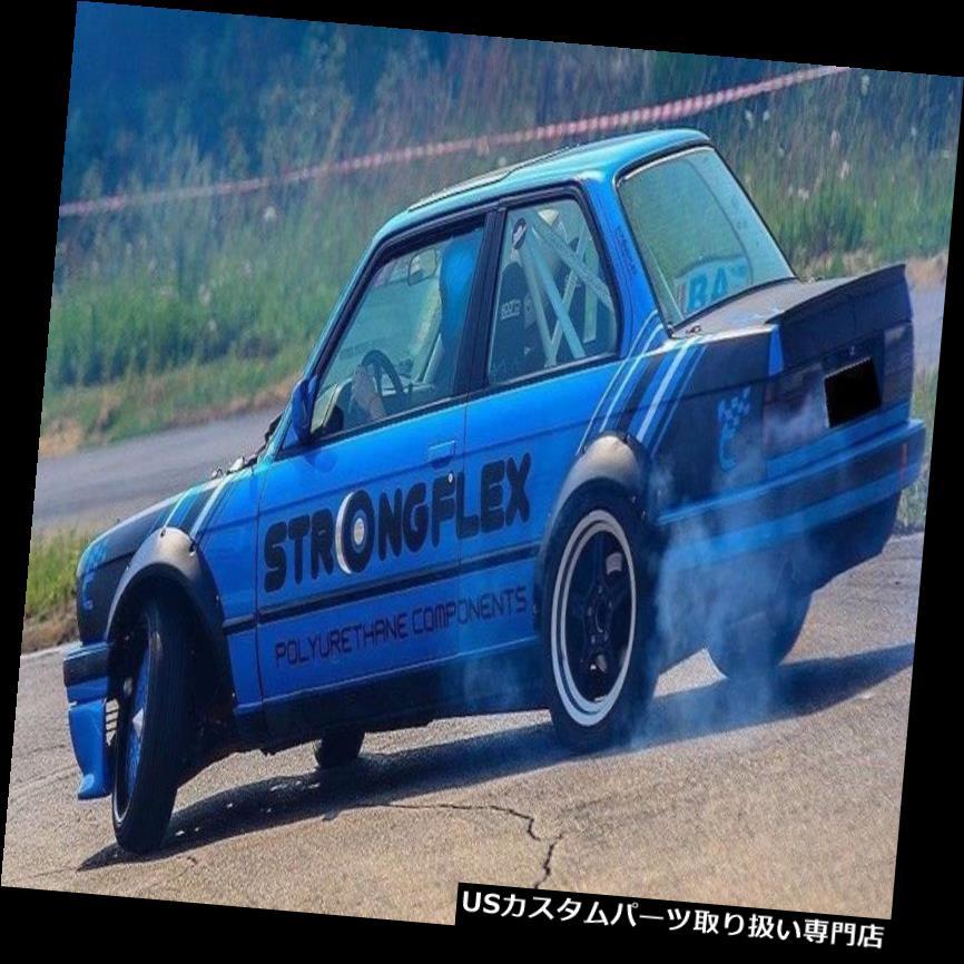 オーバーフェンダー BMW 3 E30 FENDER FLARES 4個PC ARHEL 100%フィット! 24時間船! BMW 3 E30 FENDER FLARES 4 PCS WHELL ARCHEL 100 % fit !!! 24 h ship !!!