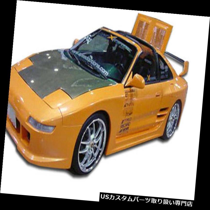 車用品・バイク用品 >> 車用品 >> パーツ >> 外装・エアロパーツ >> オーバーフェンダー オーバーフェンダー 91-95トヨタMR2 TD3000デュラフレックスワイドボディリアフェンダーフレア! 101051 91-95 Toyota MR2 TD3000 Duraflex Widebody Rear Fender Flares!!! 101051