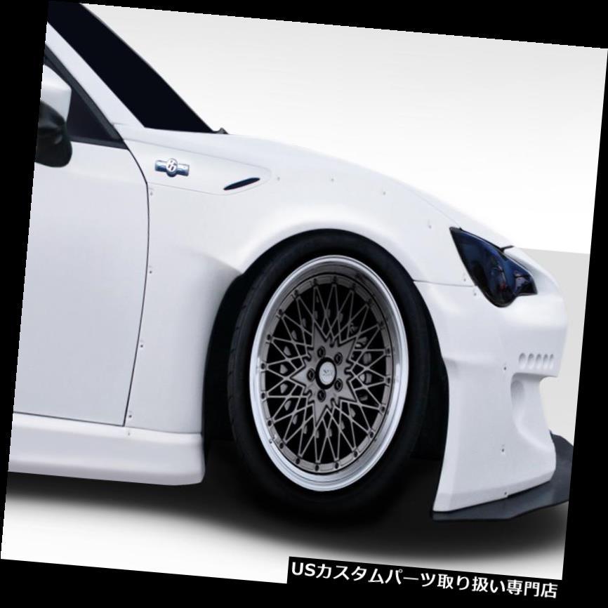 オーバーフェンダー 13-18サイオンFRS GT500 V2デュラフレックスフェンダーフレア! 112644 13-18 Scion FRS GT500 V2 Duraflex Fender Flares!!! 112644