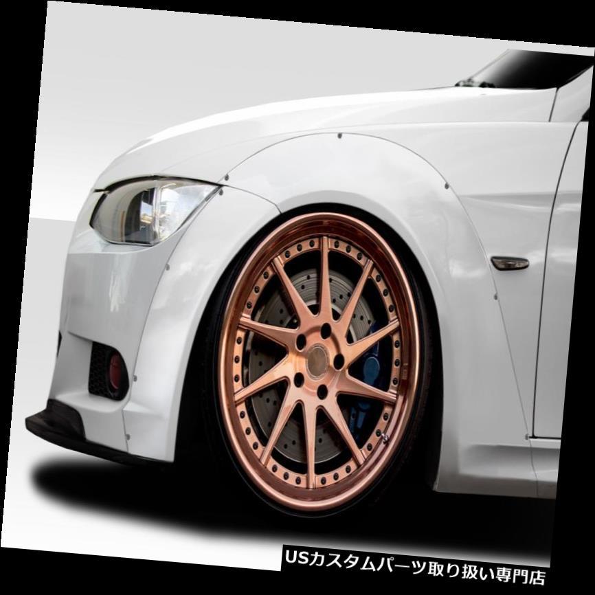 オーバーフェンダー 07-13 BMW 3シリーズALLサーキットDuraflexフロントフェンダーフレア! 113785 07-13 BMW 3 Series ALL Circuit Duraflex Front Fender Flares!!! 113785
