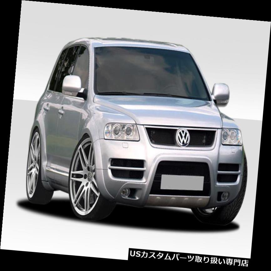 11-14 VW Touareg Front Rear Body Kit Side Fender Flare Unpainted Gray P.P.