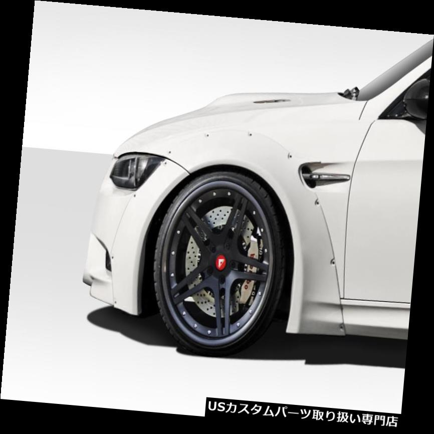 オーバーフェンダー 07-13 BMW M3サーキットDuraflex Widebodyフロントフェンダーフレア! 112599 07-13 BMW M3 Circuit Duraflex Widebody Front Fender Flares!!! 112599