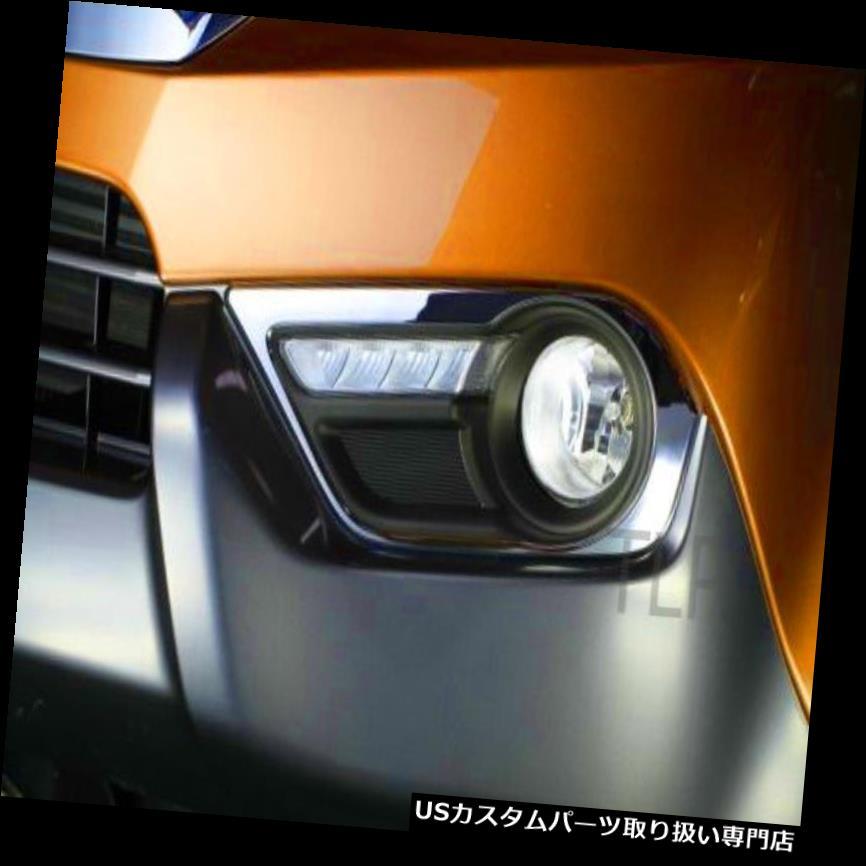 クロームカバー メッキカバー いすゞMU-X MUX 2012 13 14 SUVのためのクロム霧光スポットランプカバートリムサラウンド CHROME FOG LIGHT SPOT LAMP COVER TRIM SURROUND FOR ISUZU MU-X MUX 2012 13 14 SUV