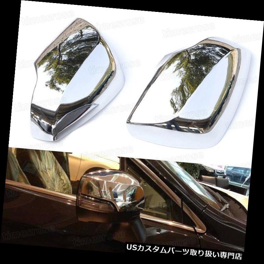 2015 Subaru クロームカバー 2pcs Side Cover Fit Outback Rearview Chrome メッキカバー Trim for 2015スバルアウトバックのための2本クロームバックサイドミラーカバートリムフィット Mirror