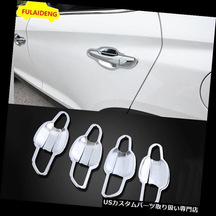 Stainless Steel Pillar Post Chrome Door Trim 6PC For Honda Civic 2012-2015