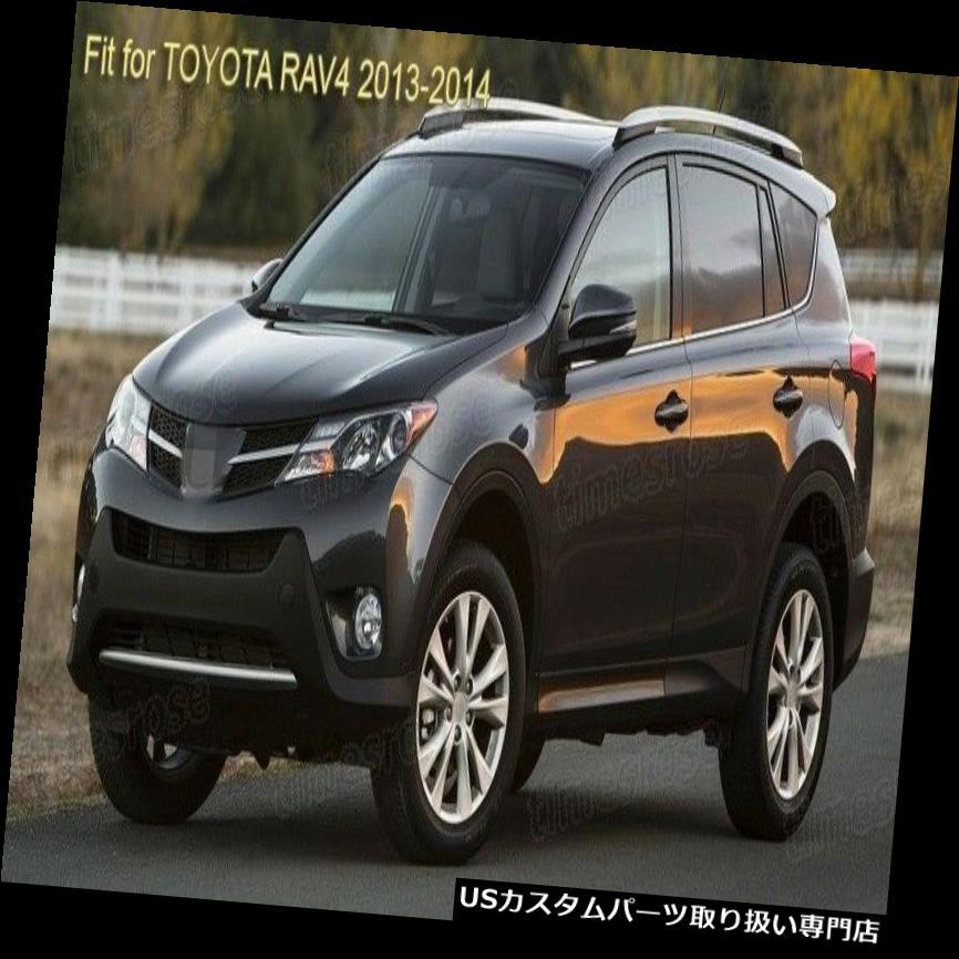 For Toyota RAV4 2013 2014 2015 Chrome Headlight front light lamp Bezel Trim