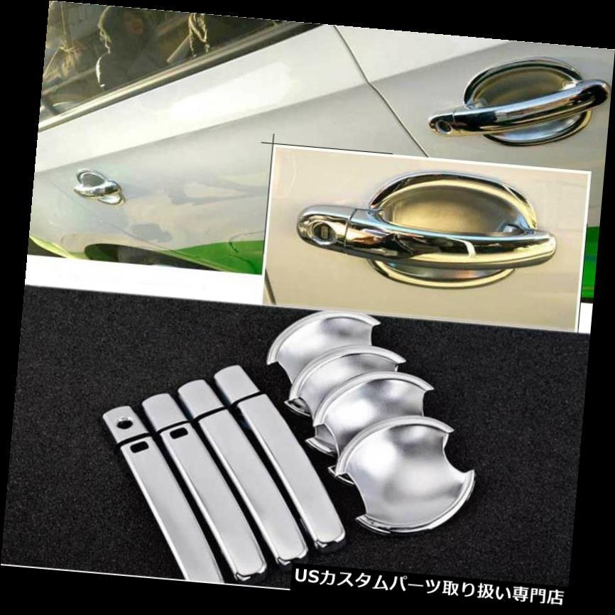 Door Handle Bowl Inner Insert Cover Chrome Trim For Toyota Yaris 2017 2018