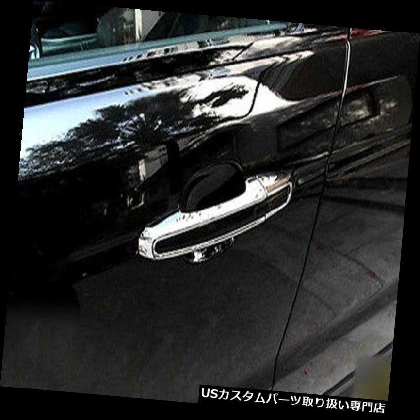 8X For Toyota Camry 2018 2019 ABS Side Chrome Door Bowl Handle Cover Trim