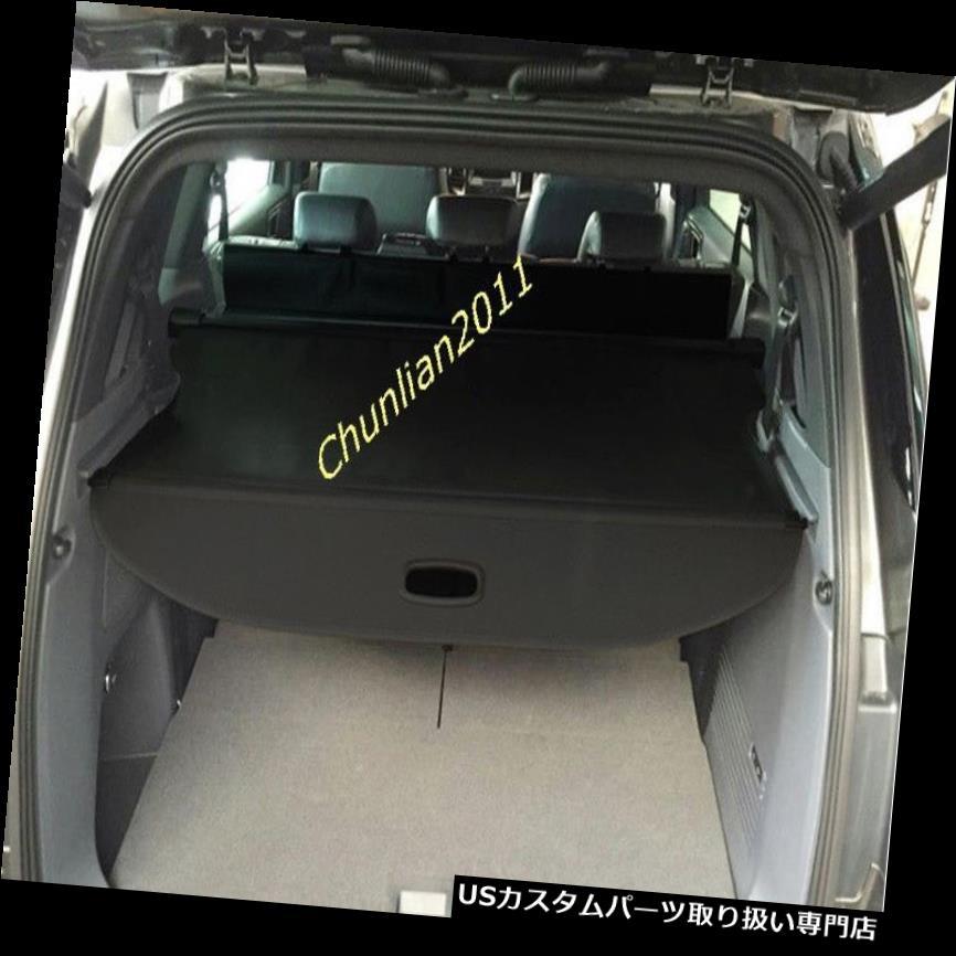 リアーカーゴカバー 2015 - 2016年フォードEVEREST SUV 4ドアブラック用リアトランクシェードカーゴカバー Rear Trunk Shade Cargo Cover for 2015-2016 ford EVEREST SUV 4door Black