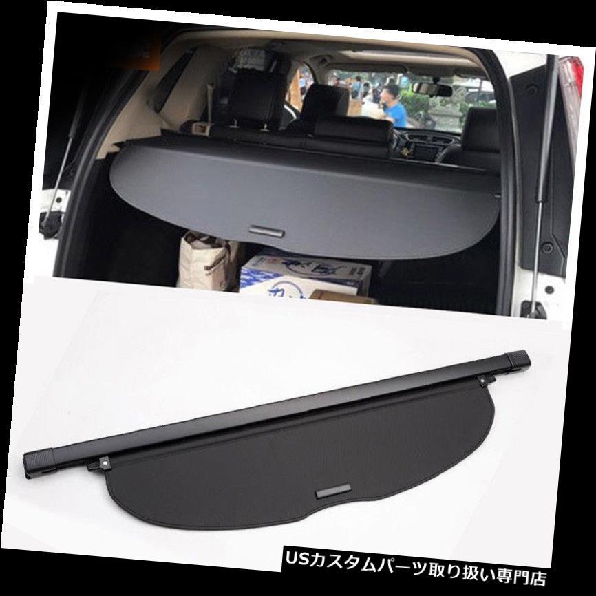 リアーカーゴカバー ホンダCR-V 2017 2018のための黒い車の後部尾トランクの貨物カバー盾の陰 Black Car Rear Tail Trunk Cargo Cover Shield Shade For Honda CR-V 2017 2018