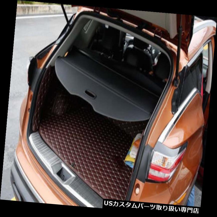 リアーカーゴカバー 日産ムラーノ2015年-2018のための黒いキャンバスの引き込み式の後部貨物カバー保護装置 Black Canvas Retractable Rear Cargo Cover Protector For Nissan Murano 2015 -2018