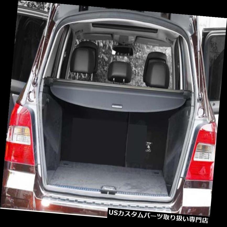 リアーカーゴカバー 2008-2015メルセデスベンツGLKクラスGLK350ブラック用後部トランクシェード貨物カバー Rear Trunk Shade Cargo Cover for 2008-2015 Mercedes-Benz GLK Class GLK350 Black