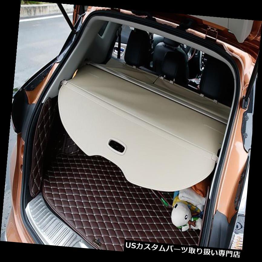 リアーカーゴカバー 日産ムラーノ2016-18のためのベージュ合金格納式リアカーゴトランクカバーシールド Beige Alloy Retractable Rear Cargo Trunk Cover Shield For Nissan Murano 2016-18