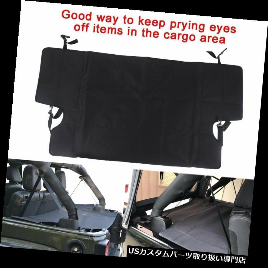 リアーカーゴカバー ジープラングラーJK 4ドア07-17用貨物セキュリティトランクカバー貨物カバーシェード Cargo Security Trunk Cover Cargo Cover Shade For Jeep Wrangler JK 4 Door 07-17