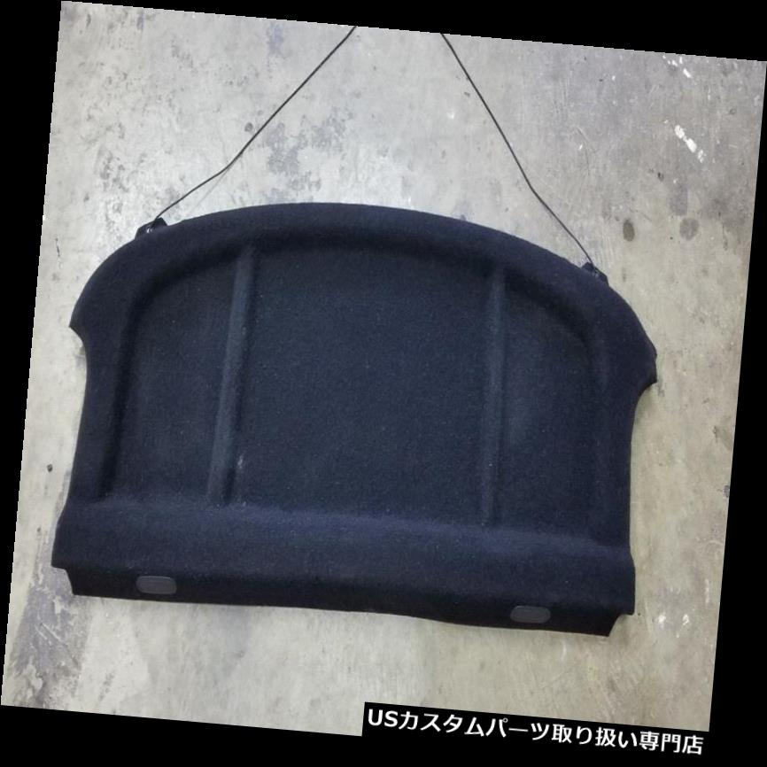 リアーカーゴカバー 2005ヒュンダイティブロンリアカーゴカバープライバシーシェルフブラック 2005 HYUNDAI TIBURON REAR CARGO COVER PRIVACY SHELF BLACK
