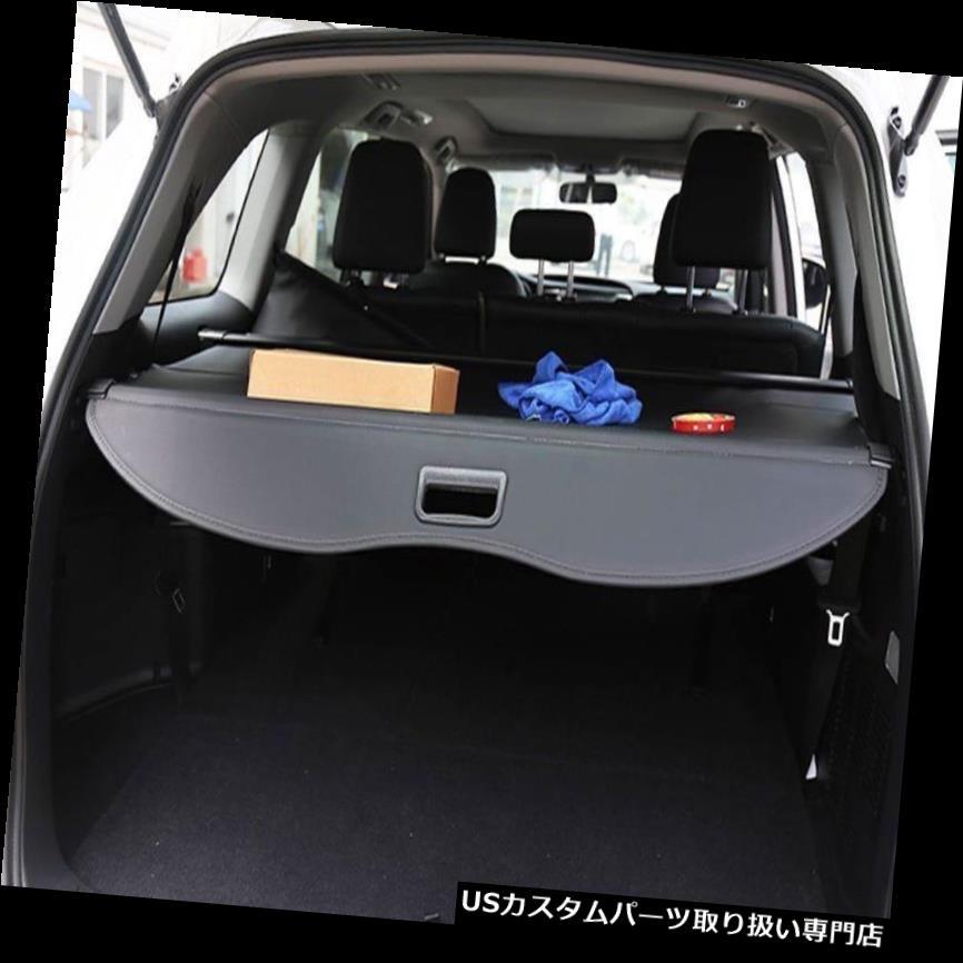 リアーカーゴカバー フォードのための黒い引き込み式の後部トランクの貨物荷物の保証陰カバーカバー Black Retractable Rear Trunk Cargo Luggage Security Shade Cover Shield for Ford