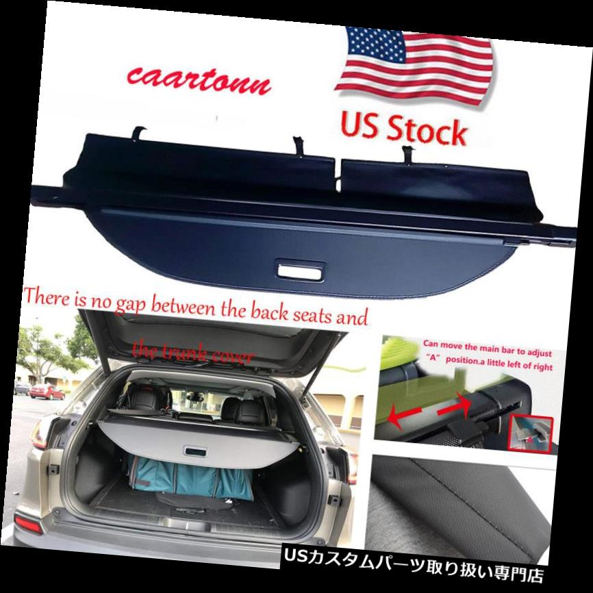 リアーカーゴカバー セキュリティRear The Trunk The 2019 Jeep Cherokee用のLUGGAGEカーゴカバーシェードを更新。 Security Rear The Trunk Updated LUGGAGE Cargo Cover Shade for 2019 Jeep Cherokee