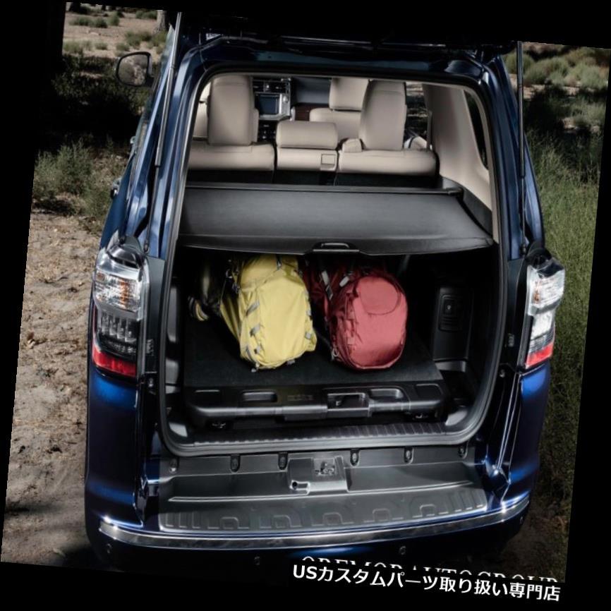 リアーカーゴカバー 2010-2019 4ランナー後部貨物カバー本物のトヨタ工場OEM 2010-2019 4Runner Rear Cargo Cover Genuine Toyota Factory OEM