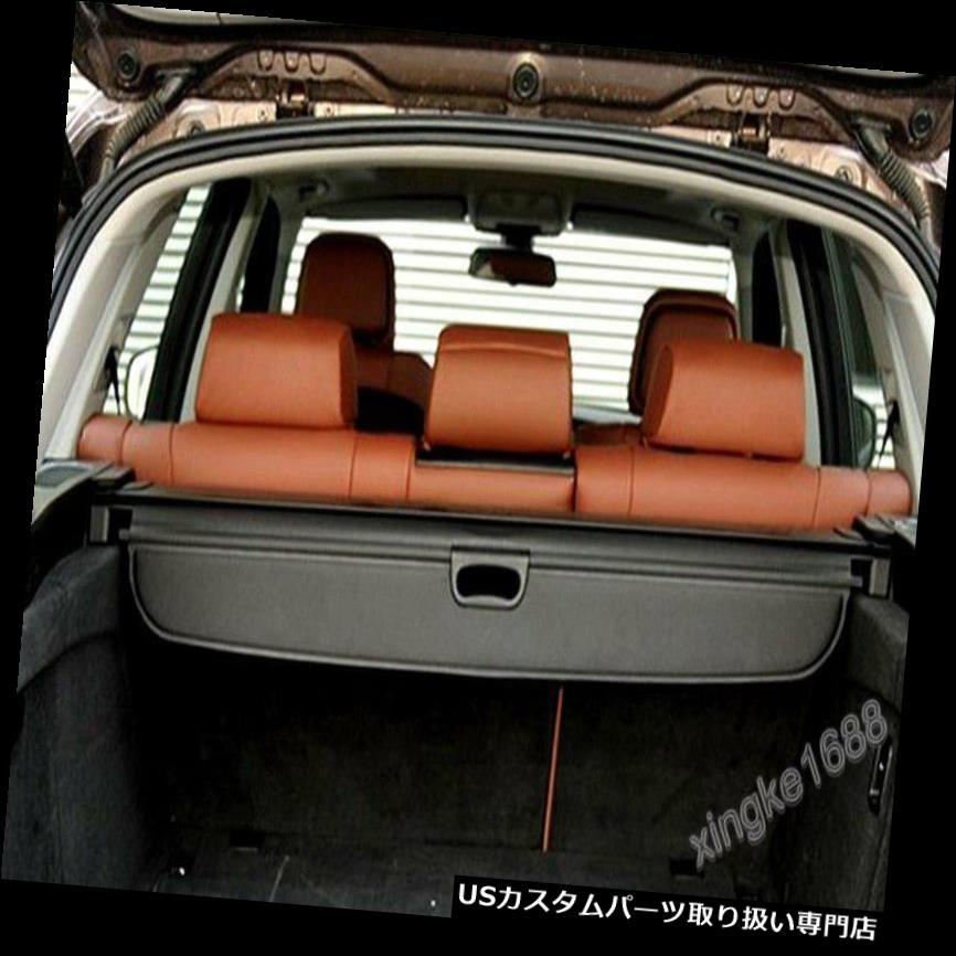 リアーカーゴカバー BMW X 5 E 70 F 15 2008-2015黒後部トランク貨物カバーセキュリティシェードに合う Fit BMW X5 E70 F15 2008-2015 Black Rear Trunk Cargo Cover Security Shade