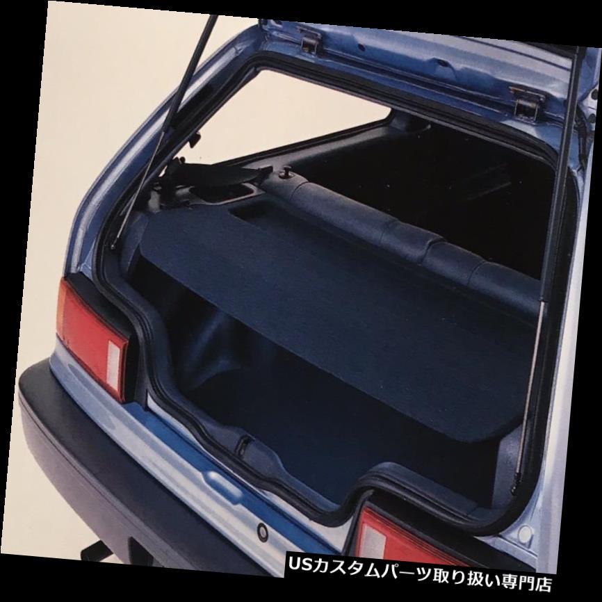 リアーカーゴカバー 1988-1991ホンダシビックSiハッチバックリアカーゴカバーブルーウルトラレアEFそのまま 1988-1991 Honda Civic Si Hatchback Rear Cargo Cover Blue Ultra Rare EF Intact