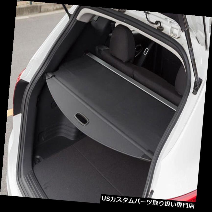 リアーカーゴカバー 2014-2018日産エクストレイルローグT32ブラック用リアトランクシェードカーゴカバー Rear Trunk Shade Cargo Cover for 2014-2018 Nissan X-Trail Rogue T32 Black