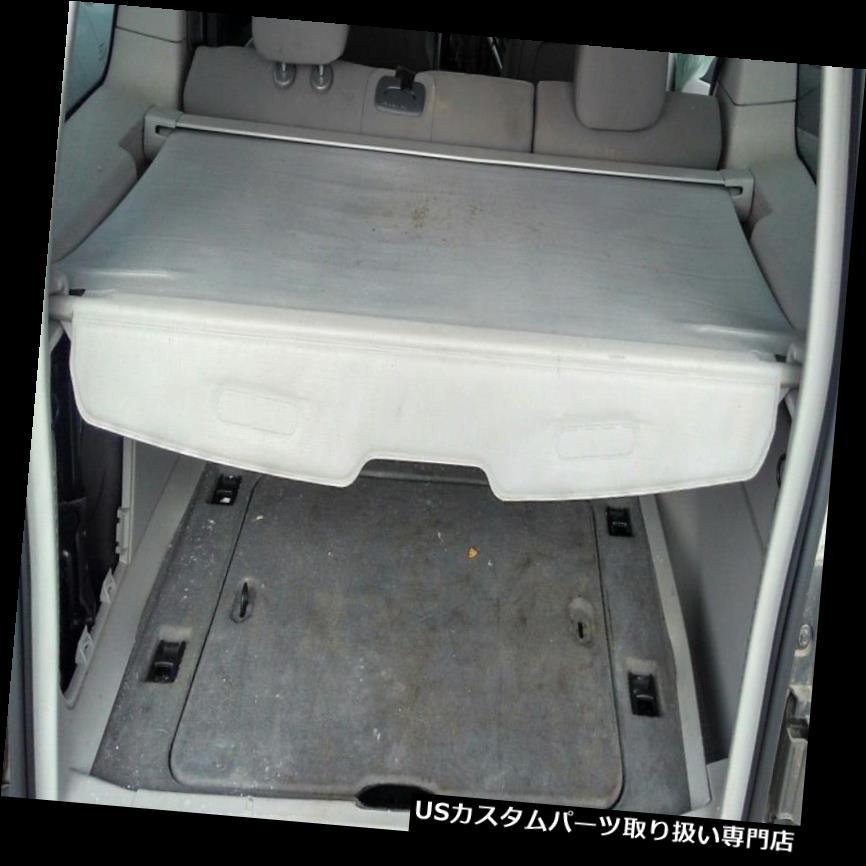 リアーカーゴカバー 2008-2012 JEEP Libertyリアカーゴカバー格納式シェード荷物プライバシーGREY 2008-2012 JEEP Liberty Rear Cargo Cover Retractable Shade Luggage Privacy GRAY