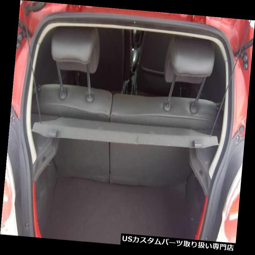 リアーカーゴカバー 2013 13シボレースパーク貨物カバー後部棚トノーブラック45577 2013 13 Chevy Spark Cargo Cover Rear Shelf Tonneau Black 45577