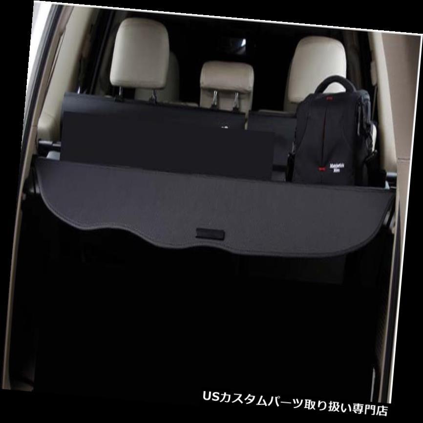 リアーカーゴカバー 2010-2016トヨタランドクルーザーブラックプラドFJ150用リアトランクシェードカーゴカバー Rear Trunk Shade Cargo Cover for 2010-2016 Toyota Land Cruiser Black Prado FJ150