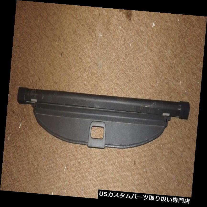 リアーカーゴカバー 2002-2007スバルインプレッサWRXワゴンリアカーゴカバーリトラクタブルブラック  2002-2007 Subaru Impreza WRX Wagon Rear Cargo Cover Retractable BLACK