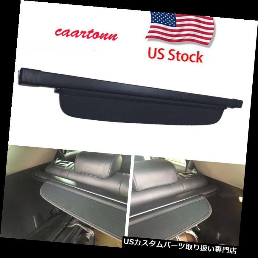 リアーカーゴカバー 2011-2016レクサスCT200hのための格納式トノーリアトランクシェードBLKカーゴカバー Retractable Tonneau Rear Trunk Shade BLK Cargo Cover For 2011-2016 Lexus CT200h